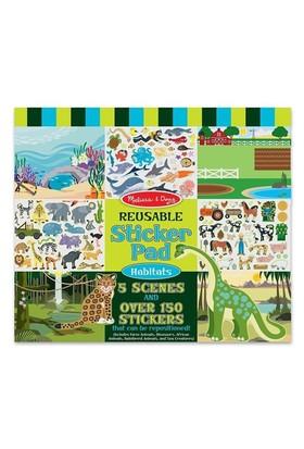 Melissa&Doug Tak Çıkar Çıkartma Kitabı - Hayvanlar