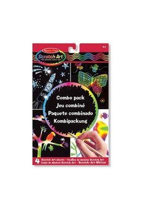Melissa&Doug Kazıma Sanatı - Renkleri Ortaya Çıkar - Combo Paket