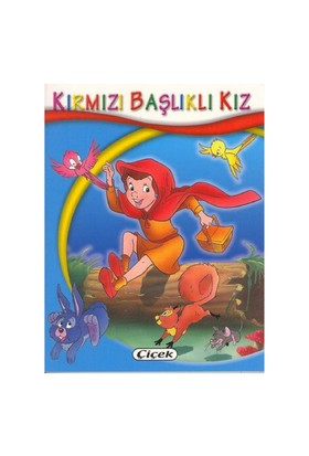 Çiçek Mini Kitaplar-Kırmızı Başlıklı Kız
