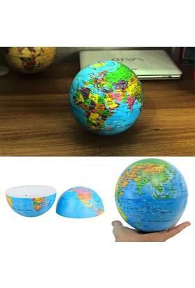 Bluezen 360 Derece Dönen Işıklı Dünya Küresi