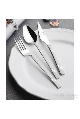 Yetkin Diva 12 Adet Yemek Çatalı - Saten