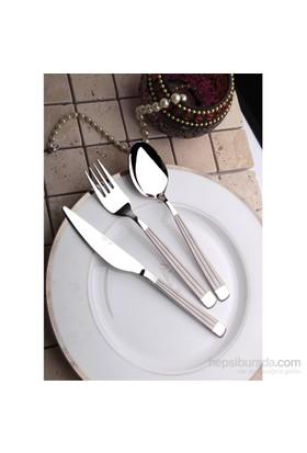 Yetkin Gökkuşağı 12 Adet Yemek Bıçağı - Sade