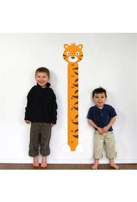 Modelce Kaplan Boy Cetveli Çocuk Odası Sticker ve 2 adet Priz Sticker
