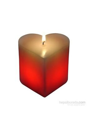 Sihirli Kalp Aşk Mumu