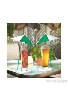 Kokteyl Şemsiye Bardak Altlığı 2'Li Set
