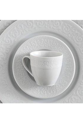 Kütahya Porselen Açelya 42 Parça 6 Kişilik Kahvaltı Takımı