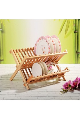 Bambu Bulaşık Sepeti - Bambu Tabaklık