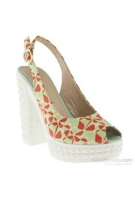 La Pinta 270 241-907Z Yeşil Ayakkabı