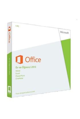 Microsoft Office Ev ve Öğrenci 2013 32-bit/x64 Kutulu (79G-03759)
