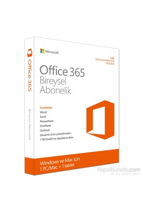 Microsoft Office 365 Personal 32/64 Türkçe (QQ2-00085)