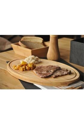 Bambum Molida Kesme Steak Tahtası