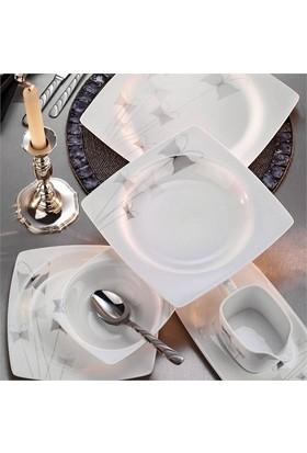 Kütahya Porselen Nil 83 Parça12 Kişilik Yemek Takımı