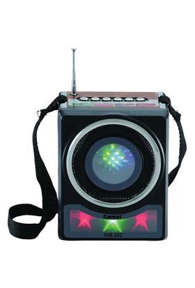 Kamal Km-302 Usb+Sd Mp3 Çalar Şarjlı Radyo