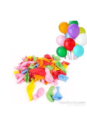 Act Karışık Renklerde 100 Adet Balon