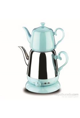 Korkmaz A 339-03 Nosta Elektrikli Çaydanlık Turkuaz