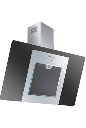 Dominox DA 611 V BK (S-LITE) Siyah/Cam/İnox Davlumbaz