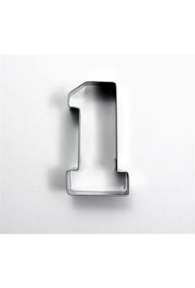 Toptansüs Sayı Kurabiye Kalıpları (1) Sayısı Kurabiye Kalıbı