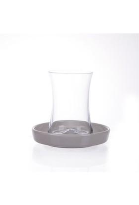 Koleksiyon Tıryakı Çay Seti 6'lı Beyaz