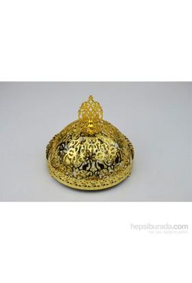 Cosiness Dantelli Altın Yaldız Aynalı Şekerlik