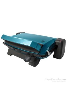 Blue House BH458SP Tostano Tost Makinası Döküm Teflon 1800W Mavi