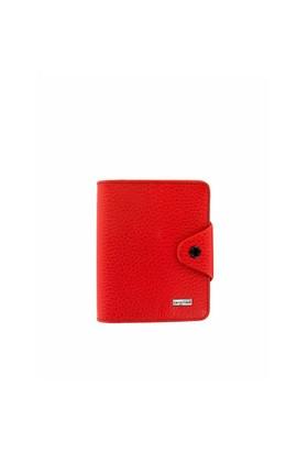 Cengiz Pakel Bayan Cüzdan Kırmızı 65145