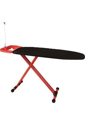 T-Design Ütü Masası Td406 Siyah-Kırmızı