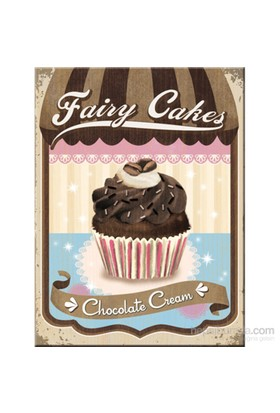Fairy Cakes - Chocolate Cream Magnet