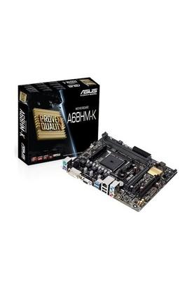 Asus A68HM-K Amd A68H 2400MHz(OC) DDR3 Soket FM2+ mATX Anakart