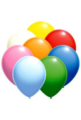 Parti Paketi Karışık Renkli Balon 25'Li Paket