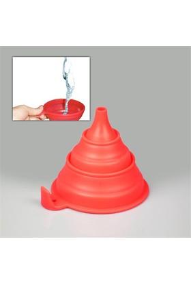 Buffer Silicone Folding Funnel Katlanır Huni