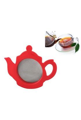 Buffer Çaydanlık Şeklinde Sevimli Çay Süzgeci