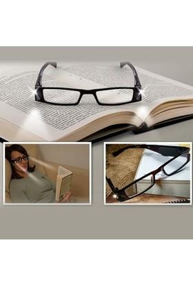 LoveQ Led Işıklı Kitap Okuma Gözlüğü - Numarasız