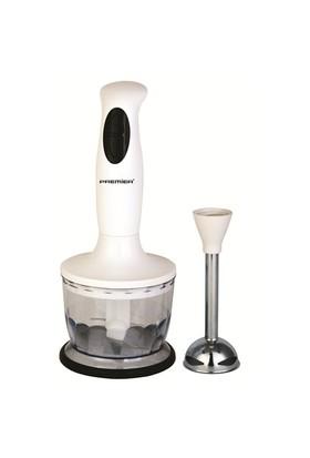Premier PRB 365 Paslanmaz Çelik Bıçaklı 350 W El Blender Seti