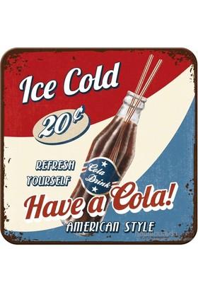 Have A Cola Tekli Bardak Altlığı
