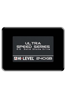 "Hi-Level Ultra 240GB 550MB-530MB/s 2,5"" Sata3 SSD HLV-SSD30ULT/240G + Aparat"