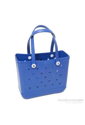 Bogg Bag Küçük Boy Plaj Çantası Mavi