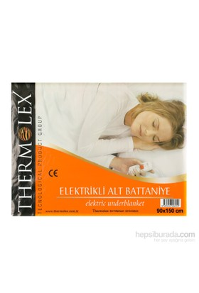 Thermolex Lüx Tek Kişilik Elektrikli Battaniye
