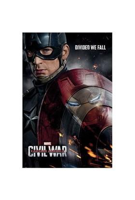 Pyramid International Maxi Poster Captain America Civil War Reflection