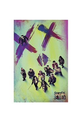 Pyramid International Maxi Poster Suicide Squad Face