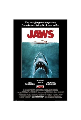 Pyramid International Maxi Poster - Jaws One Sheet
