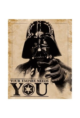 Pyramid International Mini Poster Star Wars Classic Your Empire Needs You