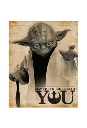 Pyramid International Mini Poster Star Wars Classic Yoda May The Force Be With You