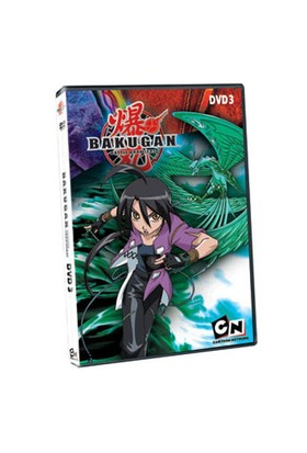 Bakugan DVD 3 (Bakugan Vol 3)