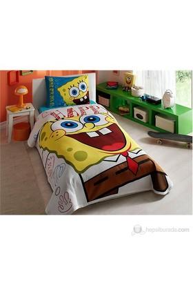 Taç Lisanslı Tap Pike Tek Kişilik Sponge Bob Happy