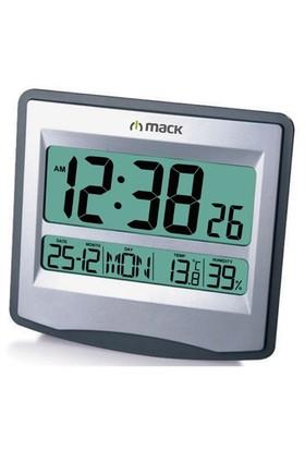 MACK MCT-9115 GR Gri Dijital Duvar-Masa Saati