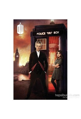 Maxi Poster Doctor Who London Fire