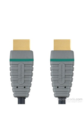 Bandridge BVL1205 5m Ethernet High Speed HDMI Altın Kaplama HDMI - HDMI Kablo