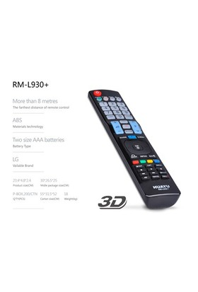 Huayu Rml-930 Lg Tv Kumandası 3D Ve İnternetli