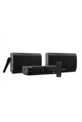 Mikado MD-2552 Siyah Usb+SD+Mikrofon Destekli Toplantı Anfisi Speaker
