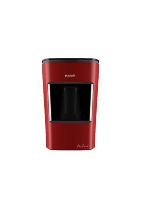 Arçelik K-3300 Telve Türk Kahve Makinesi-Kırmızı